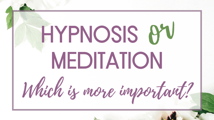 Hypnosis or Meditation Which is More Important ?
