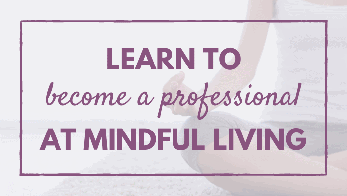Learn to Become a Professional at Mindful Living